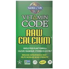vitamin code raw calcium garden of
