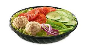 menu tuna salad subway