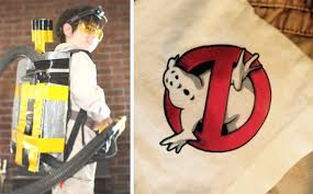 easy diy ghostbuster costume