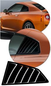 Nissan Gt R Simulated Window Louver Decal Set 1 Nismo