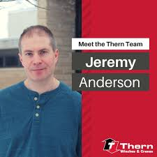 Meet the Thern Team- Jeremy Anderson - THERN® Winches & Cranes