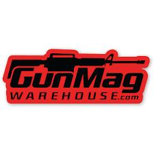 Gunmag Logo 4 Vinyl Die Cut Sticker