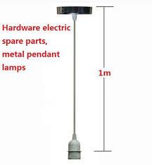 dia45mm e27cm l 1m pendant lights lamp