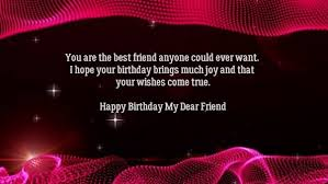 What Is The Best Birthday Wish Message For My Best Friend Quora