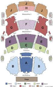 tickets and dolby theatre seating chart