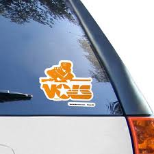 Tennessee Volunteers Wincraft Vault 4 X 4 Colored Perfect Cut Decal