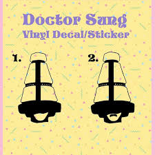 Doctor Sung Twrp Cone Daddy Vinyl Decal Sticker For Etsy