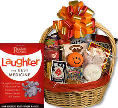 fun get well gift basket fun get well
