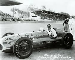 Duane Carter in 1951 (With images)   Indy car racing, Indy cars, Indy  roadster