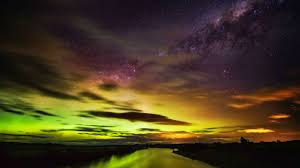 wallpaper southern lights aurora