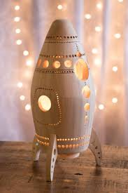 Rocket Night Light Wooden Bedside Lamp Space Themed Etsy Themed Kids Room Kids Lamps Kids Room Lighting