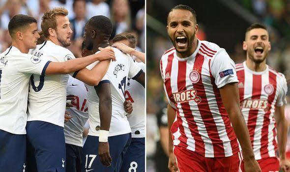 Resultado de imagen para Olympiakos – Tottenham