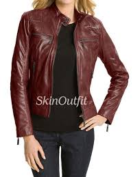 leather jackets for women in mumbai
