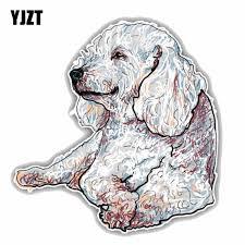 Yjzt 15cmx15 6cm Happy Poodle Dog Sketch Car Styling High Quality Pvc Car Decal Sticker C1 9061 Car Decal Sticker Decal Stickercar Styling Aliexpress