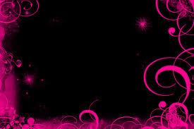 free black pink wallpaper by