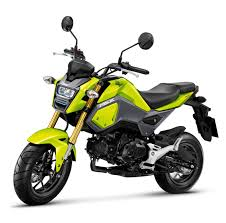 honda msx125sf launched in thailand