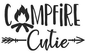 Campfire Cutie Arrows Camping Rv Decal Sticker For Car Cup Laptop Wine Tumbler Ebay