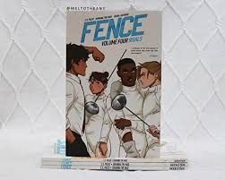 Fence Vol 4 Rivals By C S Pacat