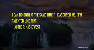 Top 3 On The Fence Kasie West Quotes Sayings
