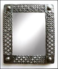 metal mirror wall decor hand cut from