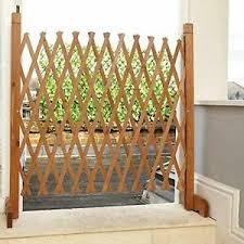 Freestanding Stairway Pet Barrier Tall Dog Gate Expanding Fence Outdoor Indoor Ebay
