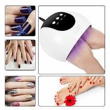 24w uv l gel polish curing nail art