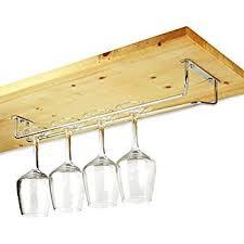 single line glass rack wine glass