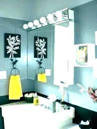 white yellow set gray decor sets