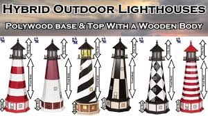 lawn lighthouses for yard or garden