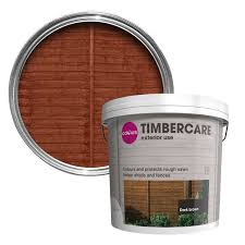 Colours Timbercare Dark Brown Fence Shed Wood Stain 9l Departments Diy At B Q