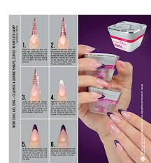 uv gel nails with tips papillon day spa