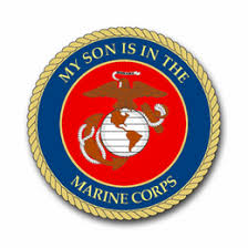 My Son Is In The Marines Vinyl Transfer Decal