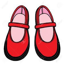 Zapatos De Colores, Dibujados A Mano En El Estilo De Dibujo ...