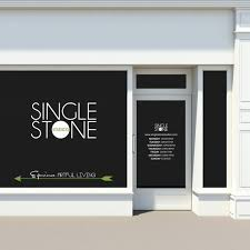 Custom Storefront Window Decals Business Logos Store Hours Etsy