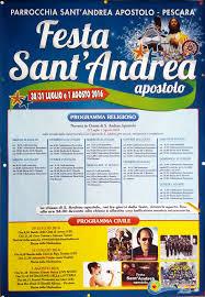 Festa di Sant'Andrea a Pescara dal 30 luglio al 1 agosto 2016