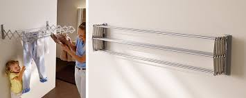 wall mounted clothes drying rack uk