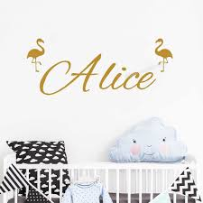 Name Wall Decal Personalized Wall Sticker Boys Girls Decal Nursery Decor Vinyl Wall Decal Beauty Salon Wall Decals Se045 Aliexpress