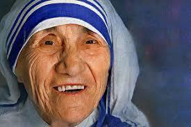 saint mother teresa blue bordered sari an intellectual property now : Outlook Hindi