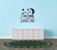 Amazon Com Decal Vinyl Wall Sticker Sweet Dreams Little One Teen Girl Boy Child Kids Baby Newborn Nursery Inspirational Quote Sign Banner Bumper Sticker Living Room Bedroom Kitchen Home Decor Picture