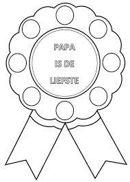 Vaderdag Medaille Maken Bijbels Opvoeden Nl