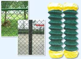 Pvc Coated Chain Link Fence Panels For Lowes