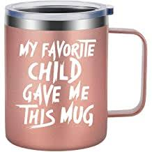 mom gifts mom mug my favorite child