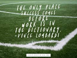 vince lombardi quotes to use in the game of life