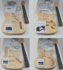 jazz bass electric guitar diy kit