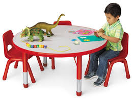 Kids Colors Adjustable Round Tables At Lakeshore Learning