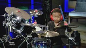 amazing kids baby drummer l j wilson