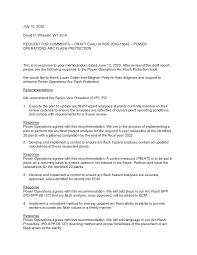 July 15, 2020 Jamie E. Choate Preston P. Pratt Jacinda B. Woodward REQUEST  FOR FINAL ACTION – EVALUATION 2019-15642 – POWER