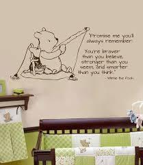 Classic Pooh Wall Decal Fishing Horizontal By Wildgreenrose Etsy Com Disney Themed Nursery Wall Decals Boy Nursey