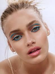 editorial makeup twiggy eyeliner