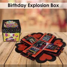 birthday gift explosion box